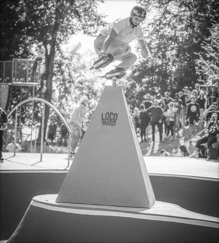 Picture of the day: Antony Pottier - First place at the Lausanne Urban Festival 2017