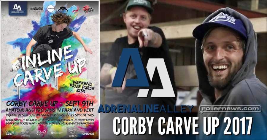 Adrenaline Alley - Corby Carve Up, Rollerblading Event (2017) - Edit by Lewis Blackburn