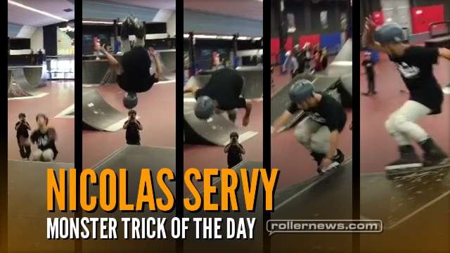 Nicolas Servy (France) - Monster Trick of the Day (2017)