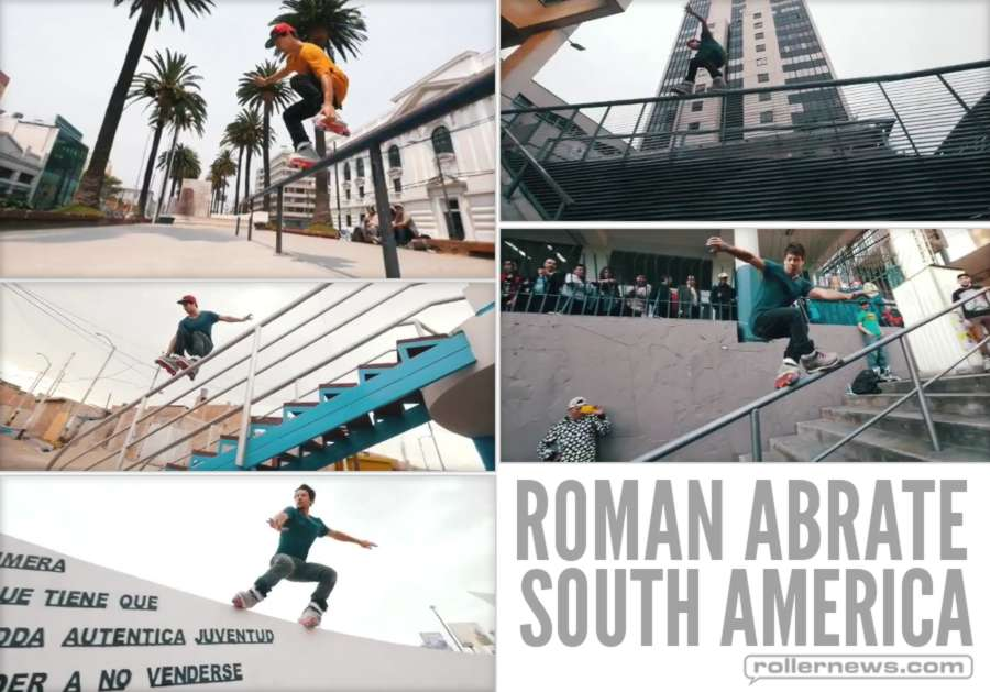 Roman Abrate - South America, Street Clips (2017)