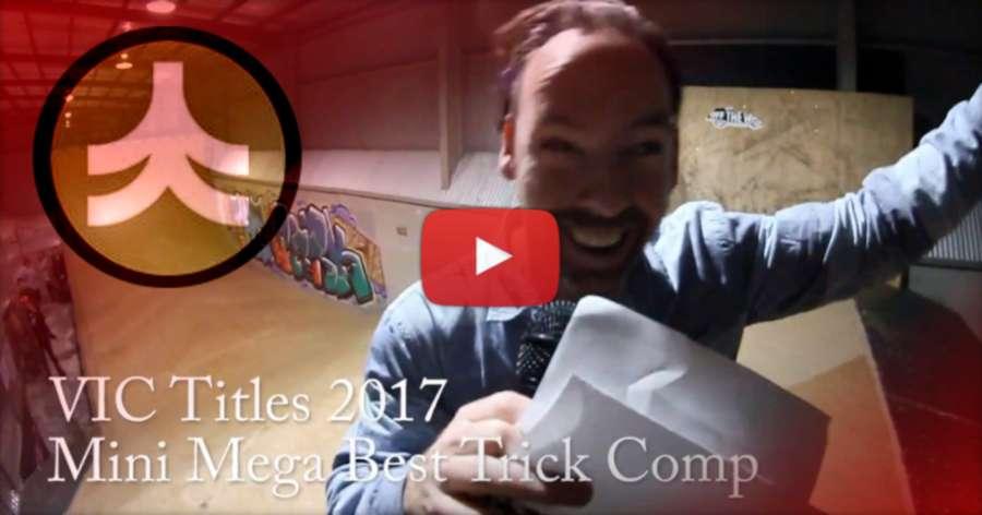 Victorian Inline Titles 2017 (Australia) - Mini Mega Comp @ The Park, Velvet Couch Edit