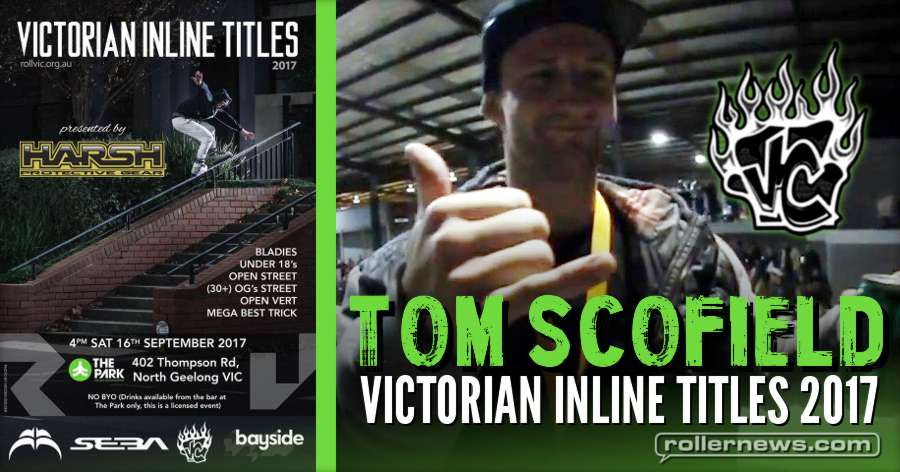 Tom Scofield @ Victorian Inline Titles 2017 (3rd place) - Velvet Couch Edit