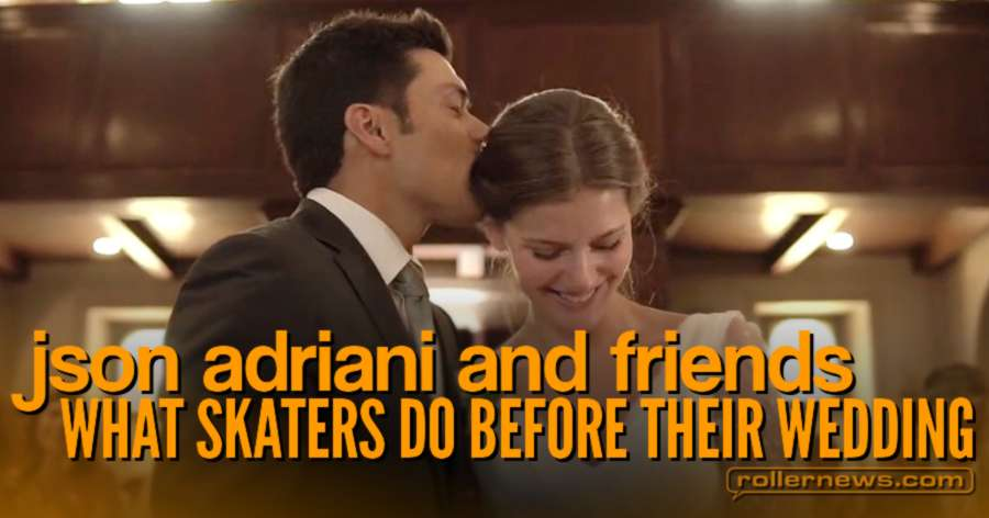 What Skaters do before their Wedding