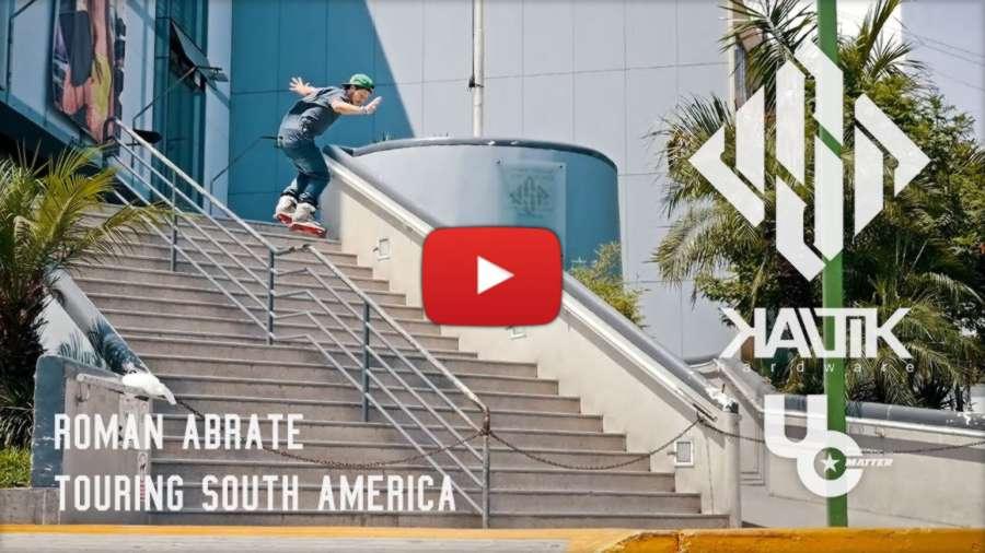 Roman Abrate touring South America - USD   Kaltik   Undercover
