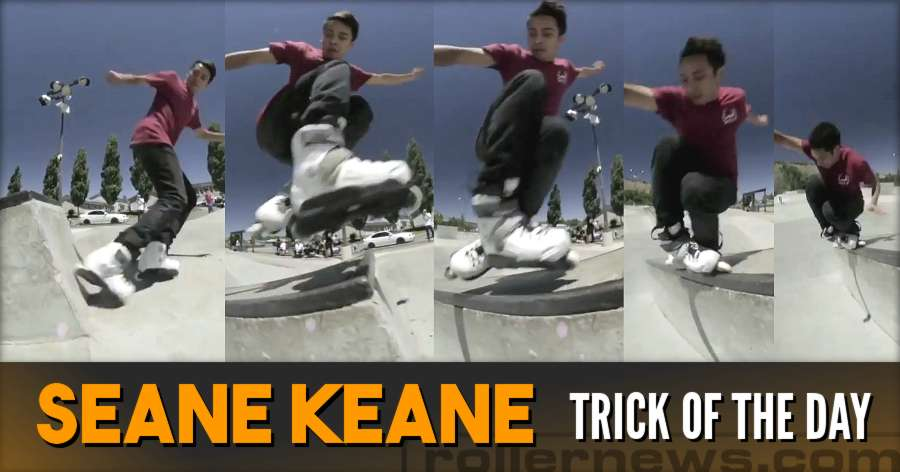 Clip & Trick of the Day: Sean Keane - Fakie Wallie Zero TP