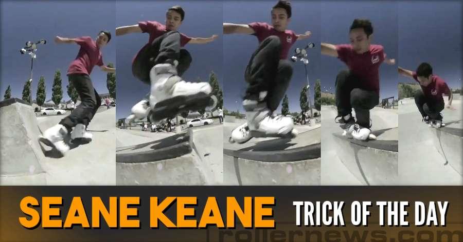 Clip & Trick of the Day: Sean Keane - Fakie Wallie Zero TP