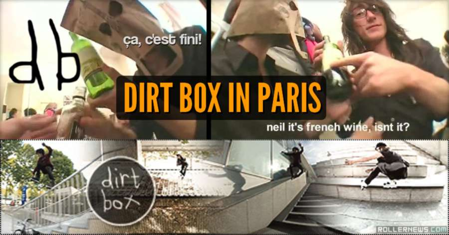 Dirt Box, Paris (2012) - One Day in Paris with Neil Ingall & Umberto Toselli