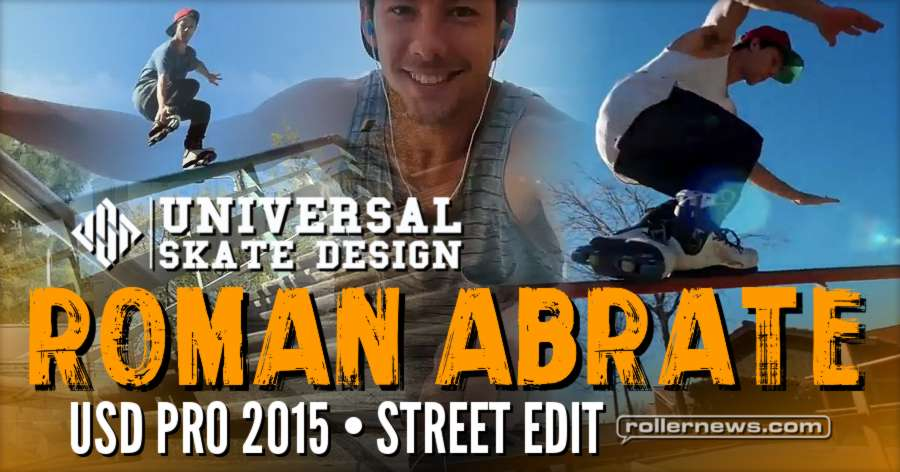 Flashback: Roman Abrate - USD Pro (France, 2015) - Street Edit