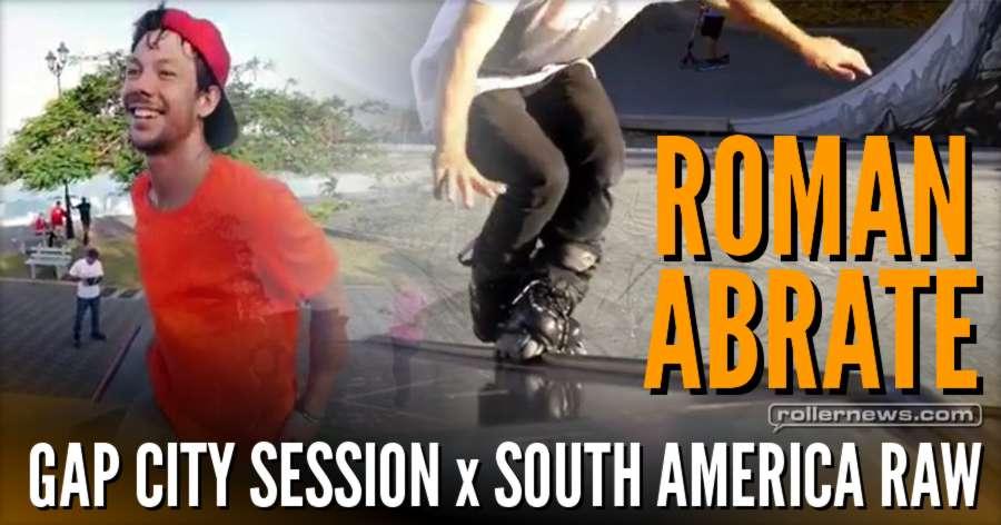Roman Abrate - USD Sway Clips in Gap City's Skatepark (France, 2017) + Bonus Raw Clips