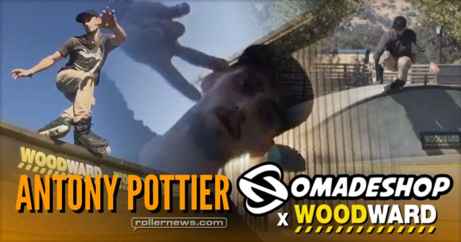Antony Pottier: Woodward x Nomadeshop (2017)