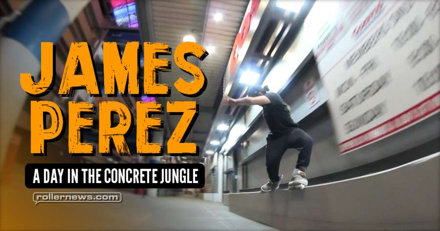 James Perez - A Day in the Concrete Jungle (2017)