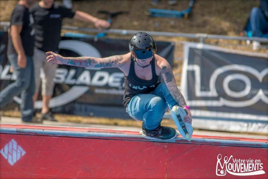 Picture of the Day: Rosie O'Donoghue - Fishbrain at the Lausanne Urban Festival 2017