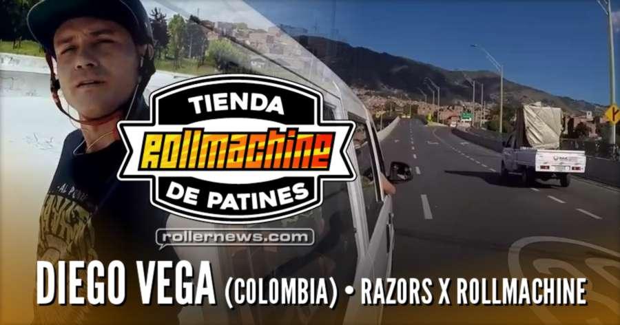Diego Vega (Colombia) - Razors x Rollmachine Edit (2017)