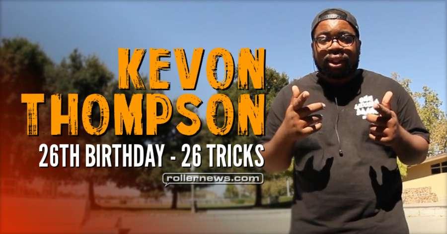 26 for 26 Kevon Thompson (2017)