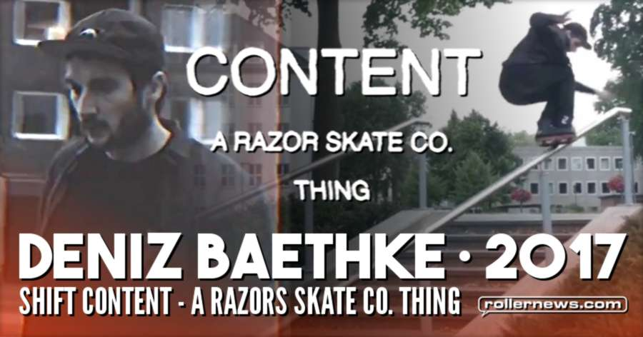 Deniz Baethke - My Part From the Razors Shift Content Video (2017)