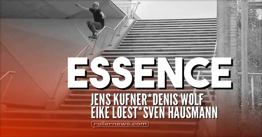 Blade Life - Essence (Germany, 2016-17) with Jens Kufner & Denis Wolf, Eike Loest, Sven Hausmann