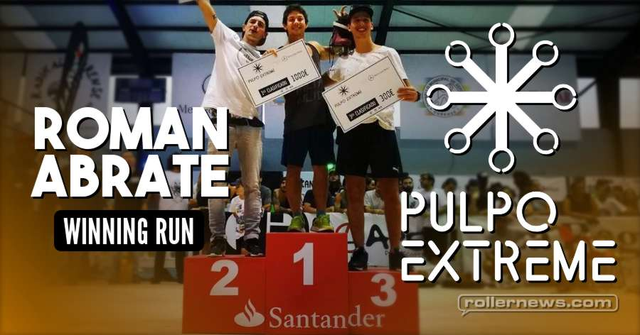 Roman Abrate - Winning Run at the Pulpo Extreme Festival 2017, Spain