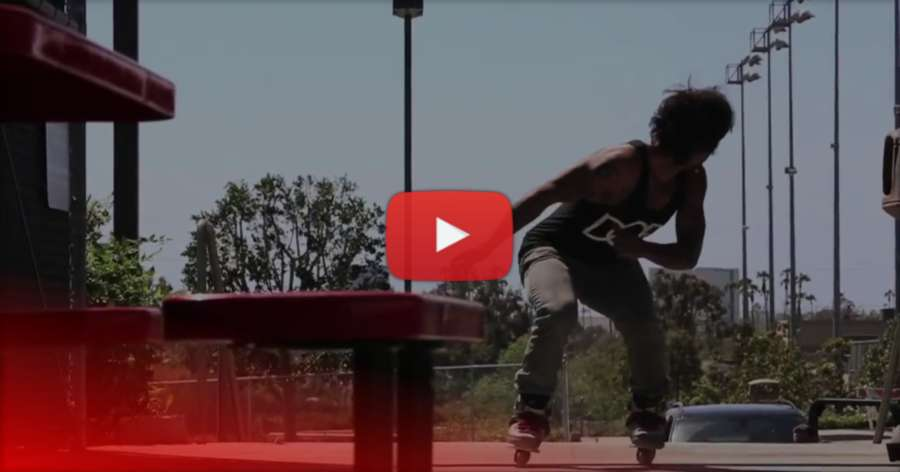 Franky Morales hits the streets of Cali (2013) - USD Skates Edit by Erick Rodriguez