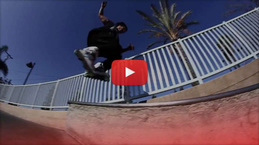 Franky Morales - Paramount (2013) - USD Skates Edit by Erick Rodriguez