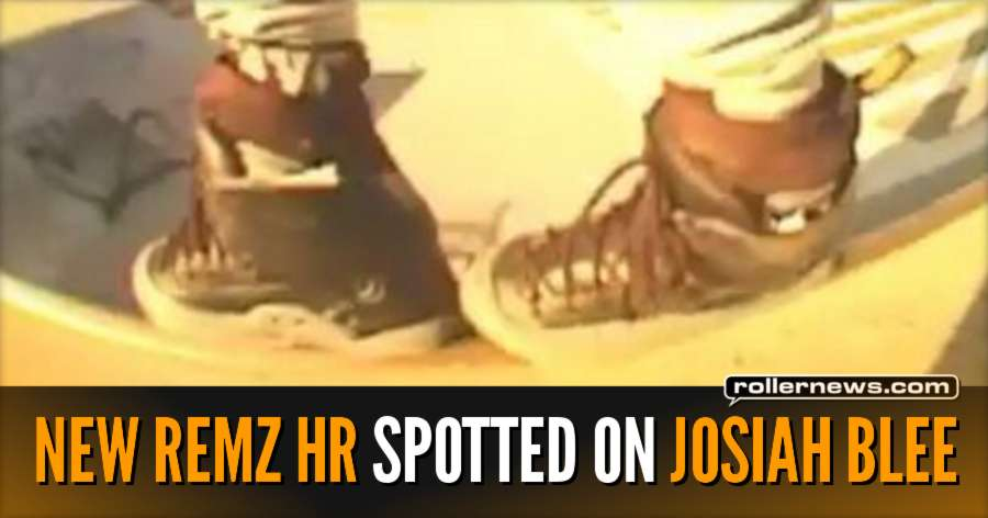 New Remz HR Skates spotted on Josiah Blee (October 2017)