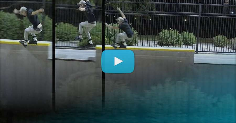 TNS - Quick Clips With Chad Hornish & Devin Thomas (Goodyear Skatepark, Arizona)