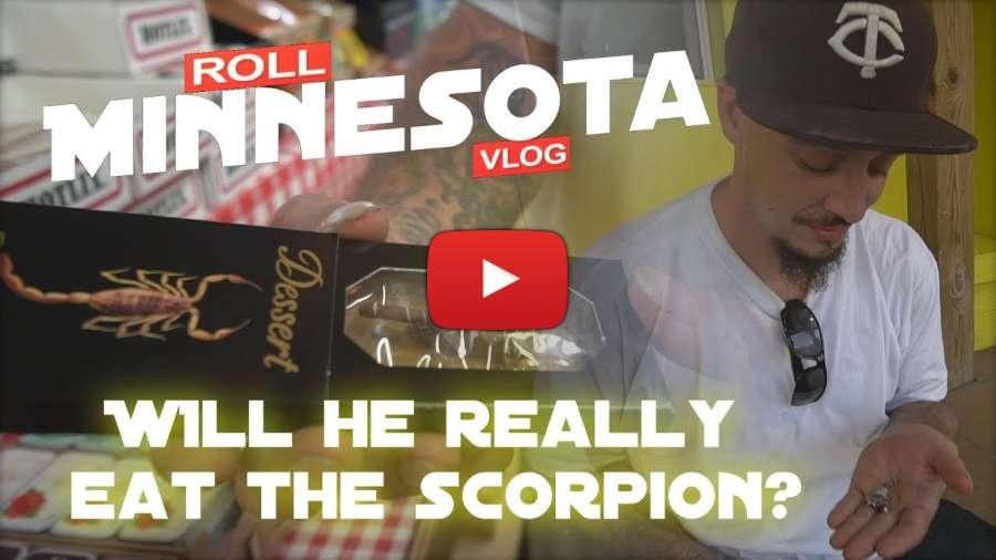 Roll Minnesota Vlog - 'Skateparks & Scorpions' (Belle Plaine, MN)