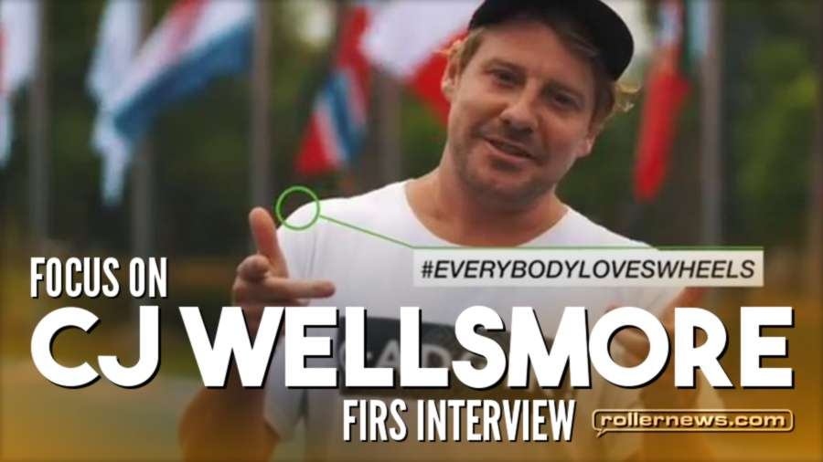 Focus on Cj Wellsmore (Roller Freestyle) - FIRS Interview at the World Roller Games