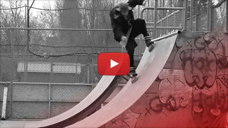Mathieu Ledoux - Ninja Blading - Wizard Frame Testing - Freestyle Skating (2015)