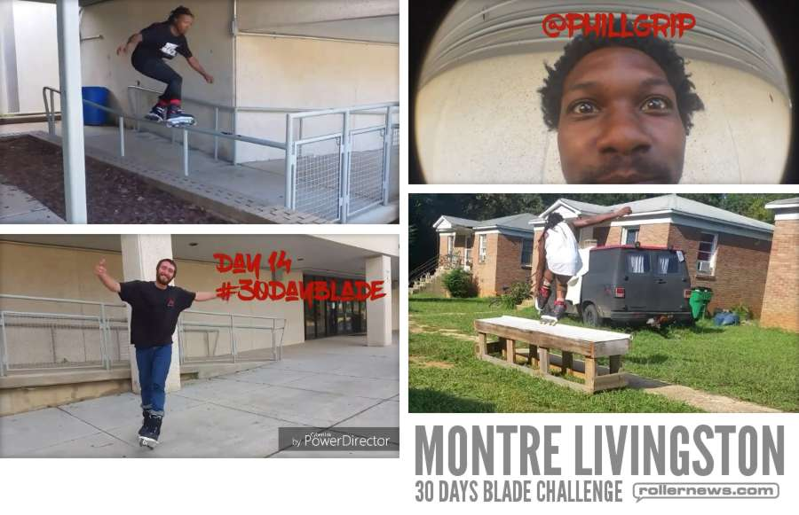 Montre Livingston: 30 Days, Blade Challenge - Days 12-18 (2017)