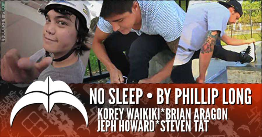 Razors - No Sleep (2011) by Phillip Long, with Sneaky, Brian Aragon, Jeph Howerd, and Steven Tat