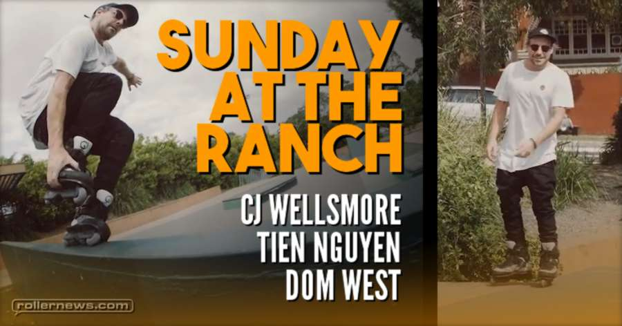 Sunday at the Ranch (2017) by Dom West, with CJ Wellsmore & Tien Nguyen