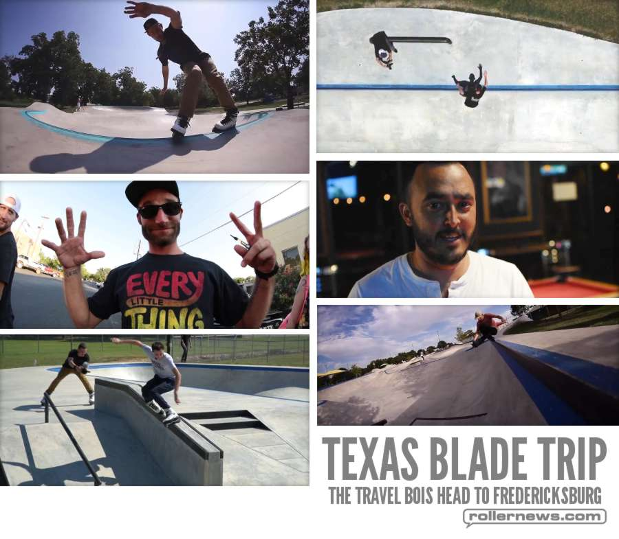 Texas Blade Trip (2017) with Troy Maimone, Jason Reyna & Troy Maimone