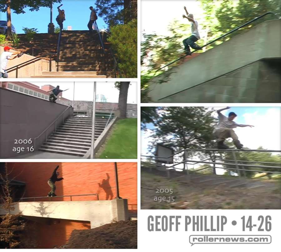 Geoff Phillip - Stunts (2004-2016)