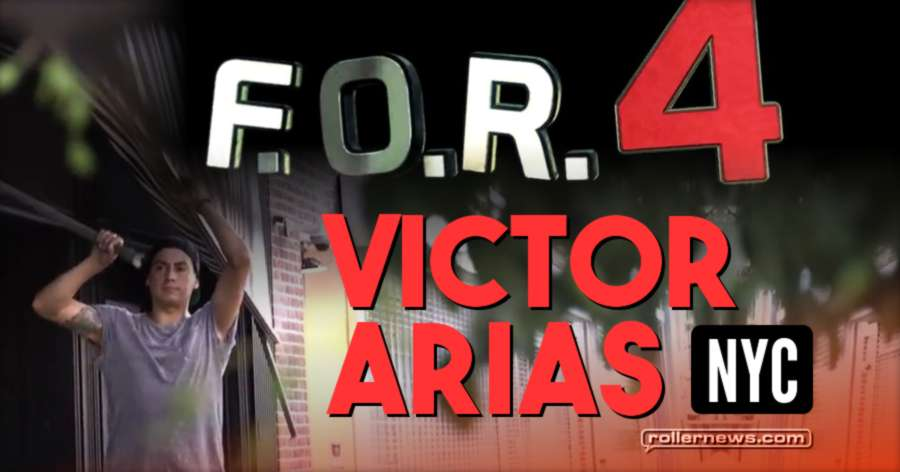 Victor Arias - F.O.R.4 (NYC) by Erick Roddriguez
