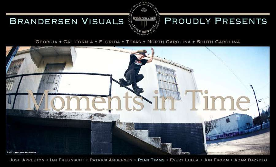 Ryan Timms - Moments in Time (2017) by Brandon Andersen