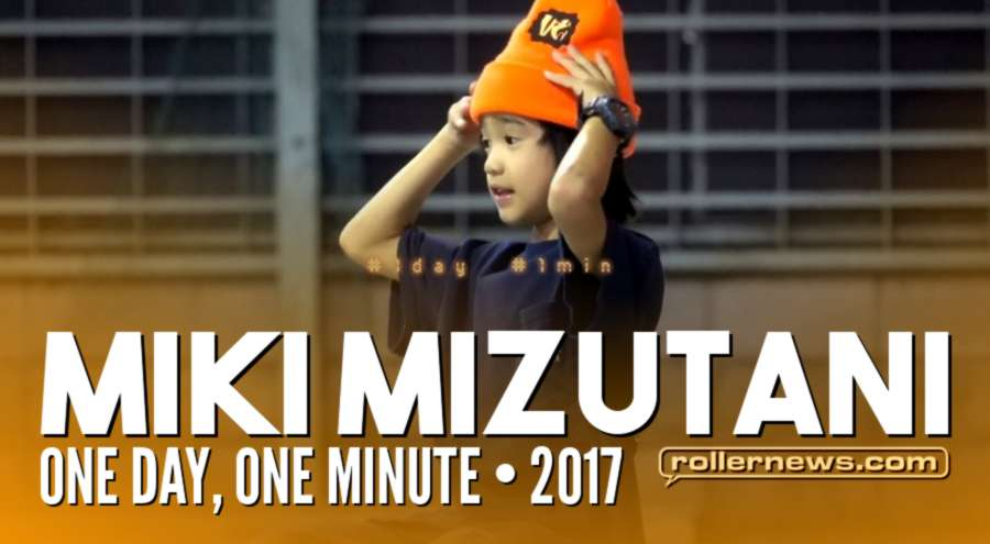 One Day, One Minute with Miki Mizutani (8 years old - Okayama, Japan)
