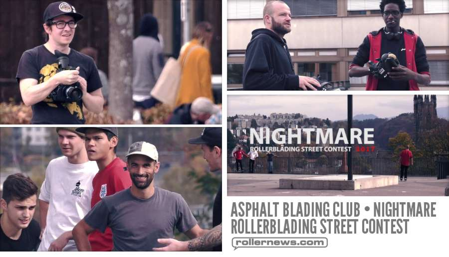 Asphalt Blading Club - Nightmare Rollerblading Street Contest, Fribourg Switzerland 2017