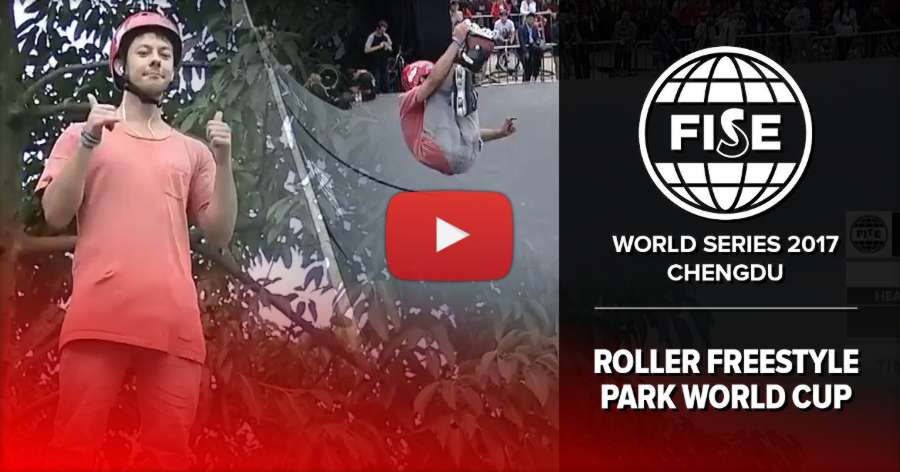 Roman Abrate - FISE Chengdu 2017, Semi Finals - 1st place (Video of the Run)