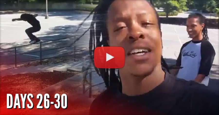 Montre Livingston - 30 Days Blade Challenge (2017) - Days 19-30