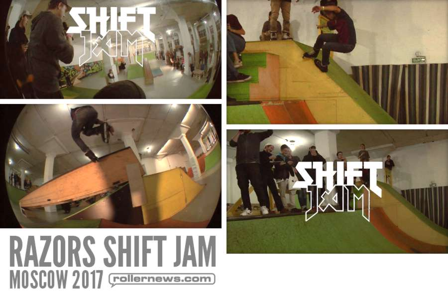 Razors Shift Jam (Moscow, Russia 2017) by The Blading Renaissance