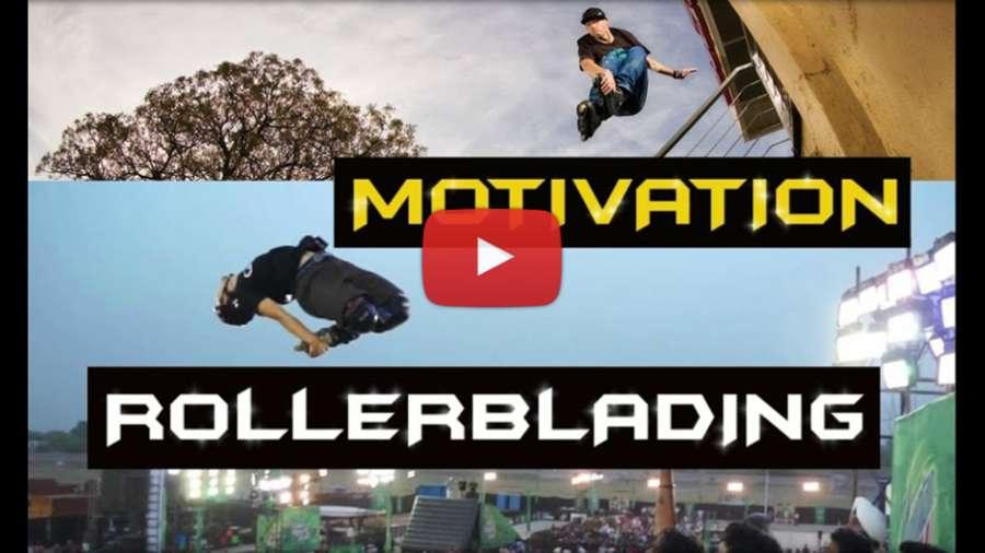 Motivation Rollerblading (2017) - Zero Spin Compilation by Ivan Higgins