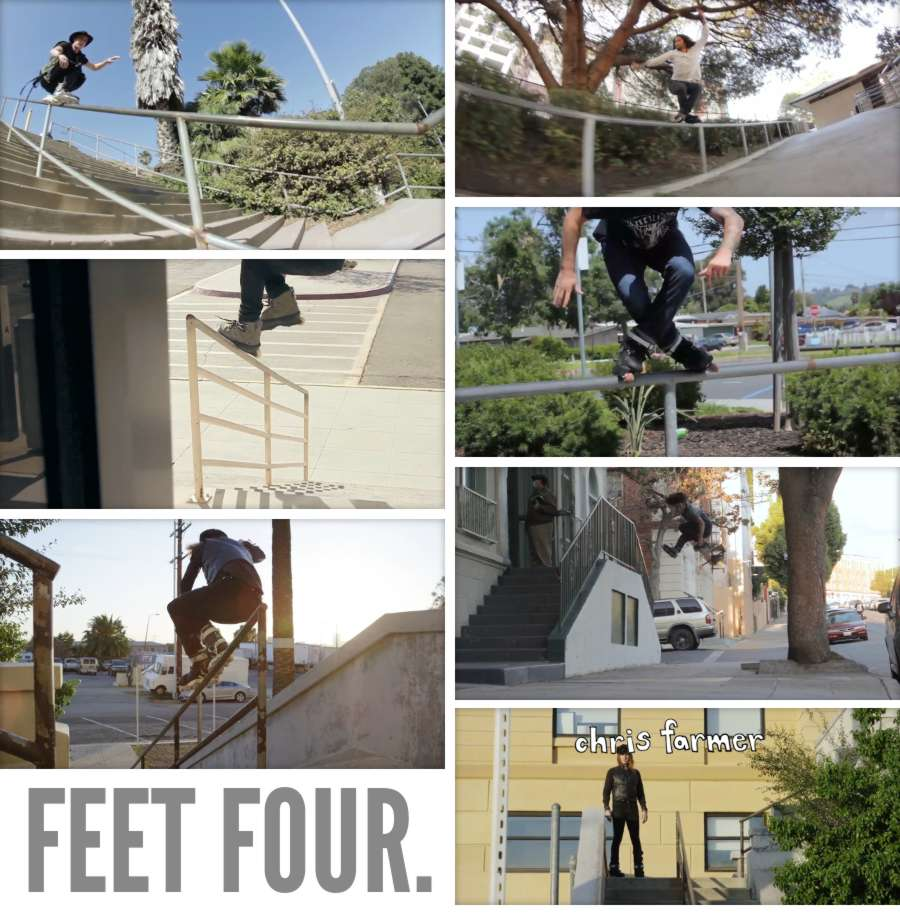 Feet Four (2017) Trailer by Lonnie Gallegos