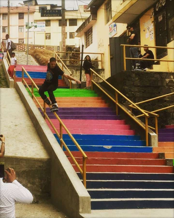 Picture of the Day: Diego Guilloud - Rainbow Soul (Quito, Ecuador - 2017)