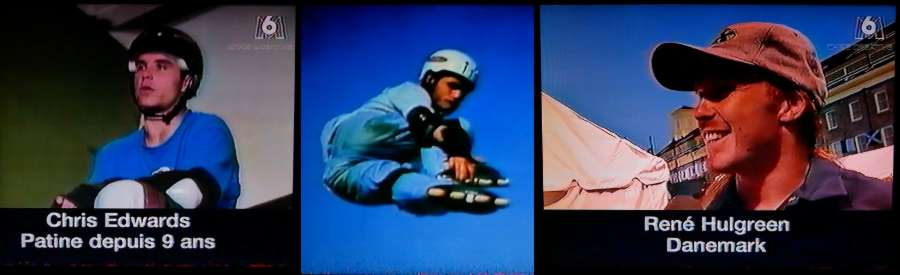 X-Games 1996 - VHS Rip, M6 French Broadcast - Interviews with Chris Edwards, Arlo Eisenberg, Rene Hulgreeen & more