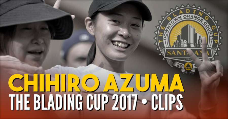 Blading Cup 2017 - Chihiro Azuma Clips