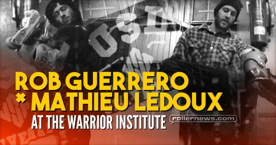 Mathieux Ledoux and Rob Guerrero at the Warrior Institute (2012)
