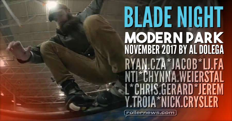 Blade Night at Modern Skatepark (2017) by Al Dolega