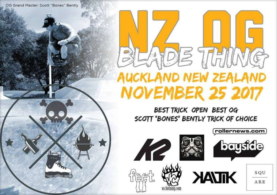 New Zealand OG Blading Thing 2017 - Edit & Results