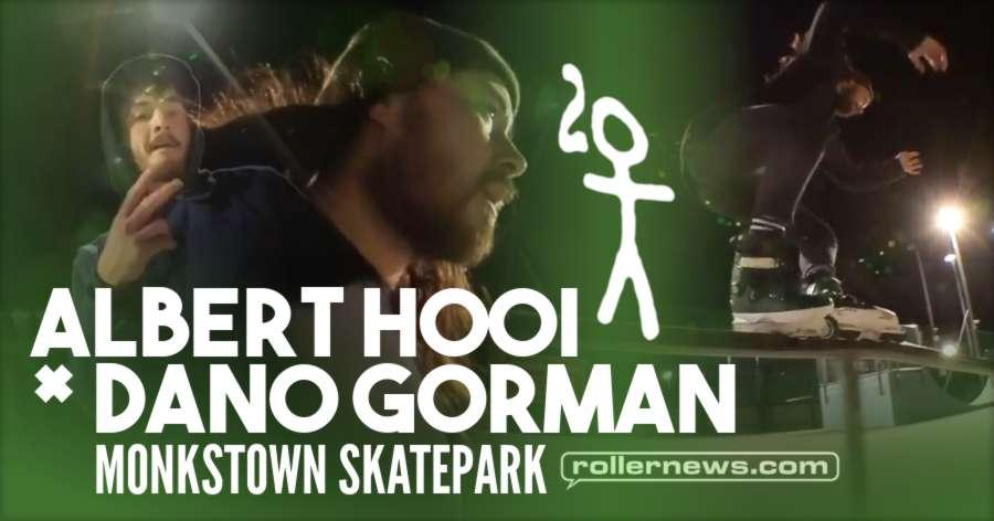 Albert Hooi x Dano Gorman - Monkstown Skatepark, Chill Session (2017)