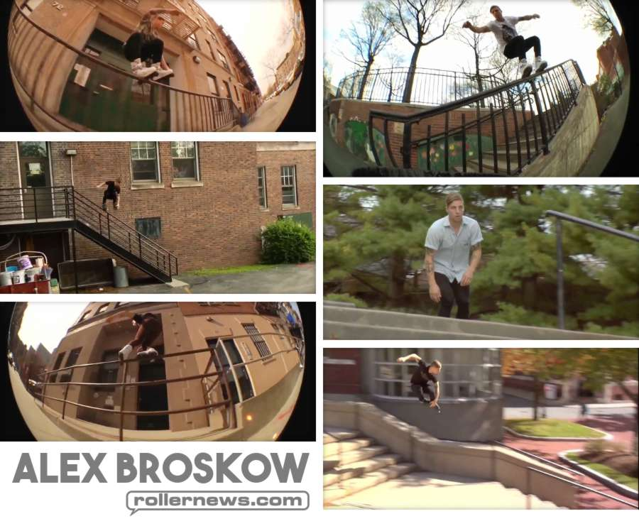 Alex Broskow - Steezness Compilation (2017) by BladeAddicted